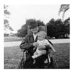 Andrew Duda, Sr. with great-grandson, Danny Duda, c. 1956