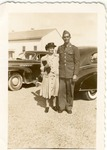 Andrew Mikler, with his mother, Katarina, March 15, 1942