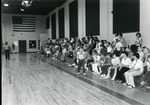 Basketball tournament in new gym (Founders Hall) March, 1981