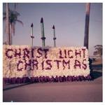 A St.Luke's School float entered in Sanford, FL Christmas Parade, 1960s