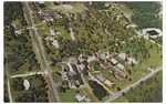 Aerial photo of St. Luke's School and Lutheran Haven campuses. c. 1970