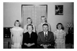 Andrew Duda, Jr. Family, c.1950, Enhanced Image