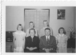 Andrew Duda, Jr. Family, c.1950, Original Image