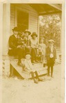 Andrew Sobek family at their home in Slavia, c. 1920s, Original