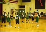 Basketball at St. Luke's Lutheran School. 2002-03