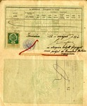 1912 Passport for Andrew Duda, Sr. Family