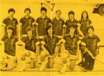 Athletics and student events in Luther High School's first year. 1975-76
