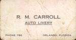Auto livery by R. M. Carroll