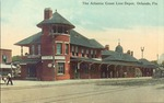 Atlantic Coast Line Depot, Orlando, Fla. by H. and W.B. Drew Co.