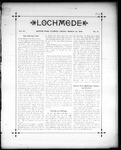 Lochmede, Vol 03, No 12, March 22, 1889 by Lochmede