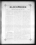 Lochmede, Vol 03, No 23, June 07, 1889 by Lochmede