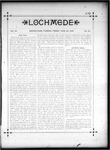 Lochmede, Vol 03, No 26, June 28, 1889 by Lochmede