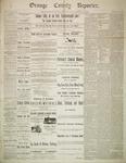 Orange County Reporter, April 17, 1884