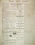 Orange County Reporter, April 24, 1884