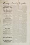 Orange County Reporter, June 05, 1884