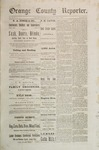 Orange County Reporter, June 12, 1884
