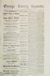 Orange County Reporter, June 26, 1884
