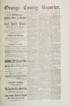 Orange County Reporter, July 17, 1884