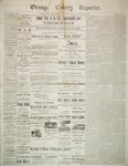 Orange County Reporter, July 31, 1884