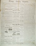 Orange County Reporter, October 02, 1884 by Orange County Reporter