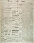 Orange County Reporter, October 30, 1884 by Orange County Reporter