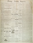 Orange County Reporter, November 13, 1884 by Orange County Reporter