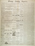 Orange County Reporter, November 20, 1884 by Orange County Reporter