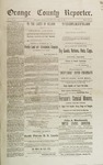 Orange County Reporter, December 18, 1884 by Orange County Reporter