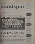 Sandspur, Vol 102 No 03, September 5, 1995