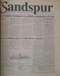 Sandspur, Vol 102 No 15, April 11, 1996