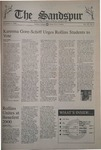 Sandspur, Vol 107 No 08, November 3, 2000 by Rollins College