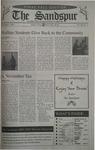 Sandspur, Vol 108, No 11, December 03, 2001