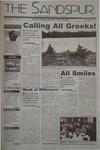 Sandspur, Vol 109, No 09, November 22, 2002