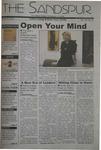Sandspur, Vol 109, No 19, March 28, 2003