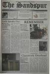 Sandspur, Vol 110, No 04, September 19, 2003