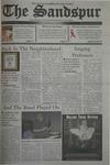 Sandspur, Vol 110, No 08, October 17, 2003