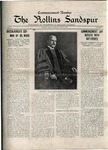 Sandspur, Vol. 21 No. 01, June 6, 1919. by Rollins College