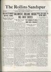 Sandspur, Vol. 21 No. 03, November 8, 1919.