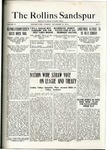 Sandspur, Vol. 21 No. 08, December 13, 1919. by Rollins College