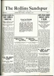 Sandspur, Vol. 21 No. 09, December 20, 1919. by Rollins College