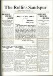 Sandspur, Vol. 21 No. 12, January 24, 1920.