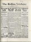 Sandspur, Vol. 22 No. 02, October 23, 1920 by Rollins College