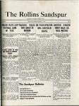 Sandspur, Vol. 22 No. 08, November 4, 1920. by Rollins College