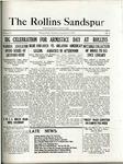 Sandspur, Vol. 22 No. 04, November 6, 1920.
