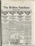 Sandspur, Vol. 22 No. 13, January 29, 1921. by Rollins College