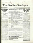 Sandspur, Vol. 22 No. 17, February 26, 1921. by Rollins College