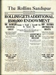 Sandspur, Vol. 22 No. 18, March 12, 1921. by Rollins College