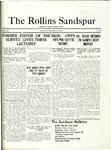 Sandspur, Vol. 22 No. 20, March 26, 1921. by Rollins College