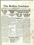 Sandspur, Vol. 22 No. 22, April 9, 1921.