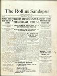 Sandspur, Vol. 22 No. 23, April 16, 1921.